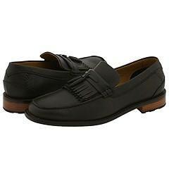 Trask Choteau Tassel Brown Pebbled Leather