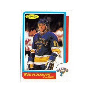 1986 87 O Pee Chee #146 Ron Flockhart: Collectibles