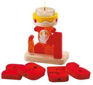 Sevi 81720   Kerzenhalter mit Zahlen Set (1 9) Spielzeug