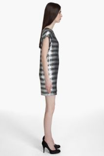 Haute Hippie Sequin Stripe Dress for women