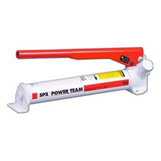 Stage POWER TEAM Hydraulic Hand Pump 152 Cubic Inch Oil Cap 1400PSI