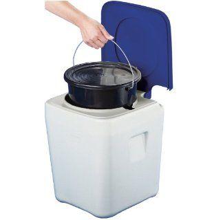 Campingoilee oilee WC mobil verschließbarer Eimer