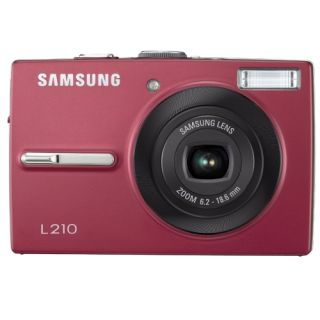 Samsung L210 Red Digital Camera