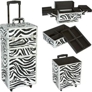 Seya 3 in 1 Zebra Rolling Makeup Case