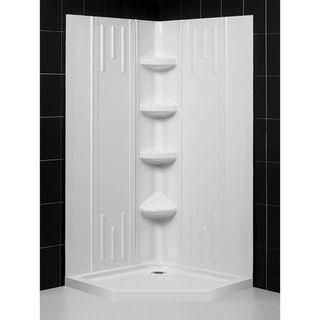 DreamLine Shower Backwall and Base Kit