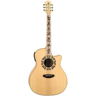 Luna Oracle Zen Acoustic/ Electric Guitar