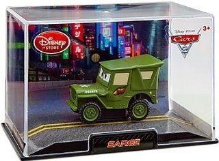 Movie Exclusive 148 Die Cast Car In Plastic Case Sarge Toys & Games
