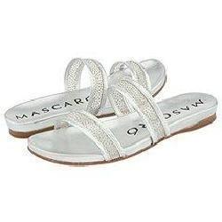 Jaime Mascaro Sparkle Mesh Sandal Silver Sparkle Mesh