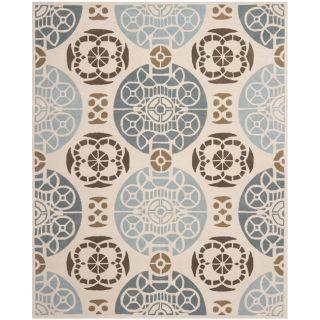 Handmade Marrakesh Beige/ Blue New Zealand Wool Rug (6 x 9) Today $