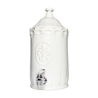 American Atelier Bianca White Beverage Dispenser Compare $40.98 Sale