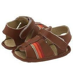 Pazitos Formula 1 Sandal (Infant) Natural