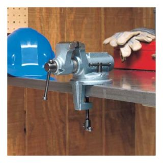 Wilton CBV 100 Bench Vise, Portable, Clamp on, 4 In