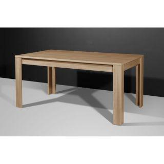 MONTE CARLO Table à manger 160x160 cm Marron   Achat / Vente TABLE A