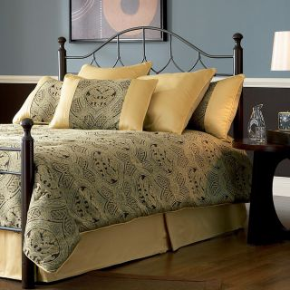 Bianca Queen Hammered Pewter Headboard and Bed Frame Set