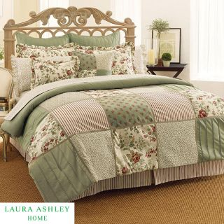 Laura Ashley Glenmore 4 piece California King size Comforter Set