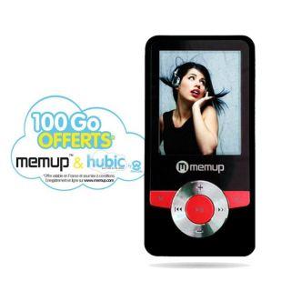MEMUP K18 4 Go Rouge Lecteur MP4   Achat / Vente BALADEUR  / MP4