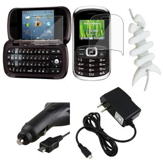 Screen Protector/ Car and Travel Charger/ Wrap for LG VN530 Octane