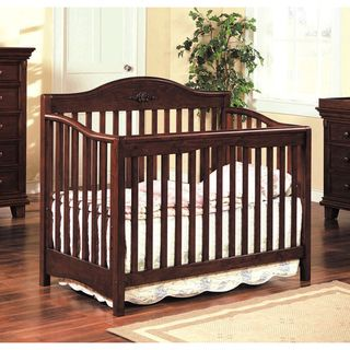 Heartland Cherry Finish Baby Crib