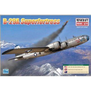 Minicraft Models B 29A Superfortress 1/144 Scale Toys & Games
