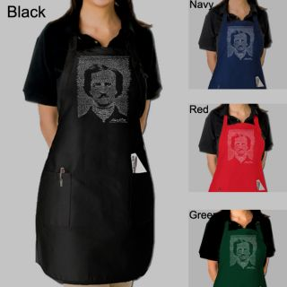 Los Angeles Pop Art Edgar Allen Poe Apron Today $17.49 5.0 (1