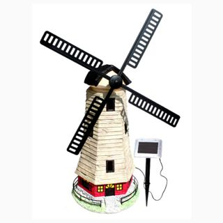 Large Windmill Light House Solar Light