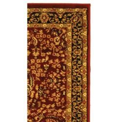 Lyndhurst Persian Treasure Red/ Black Runner (23 x 6)