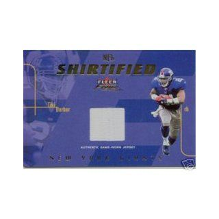 1998 Paramount Platinum Blue #152 Tiki Barber Collectibles