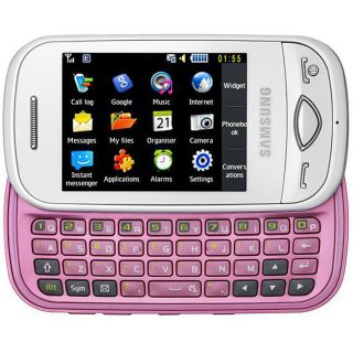 Samsung Pink Corby Plus GT B3410 GSM Unlocked Cell Phone