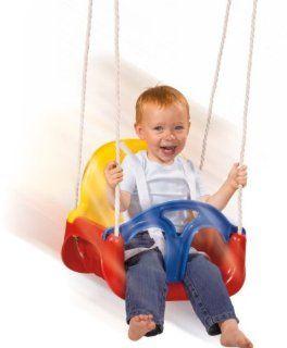 Mitwachsende Baby (Kinder ) Schaukel 3 in 1 Spielmaus   blauer Sitz