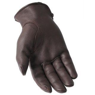 Daxx Mens Top Grain Deerskin Leather Gloves