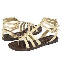 Madden Girl Sicilly Gold Metallic Sandals
