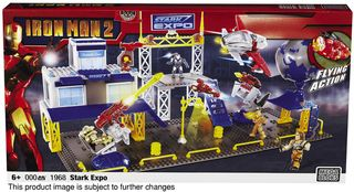 Mega Brands Iron Man 2 Expo Playset