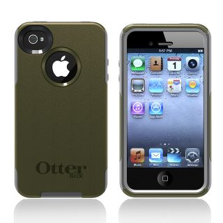 Otter Box Apple iPhone 4/ 4S OEM Envy Green/ Grey Commuter Case