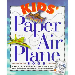 Kids Paper Airplane Book (Paperback)