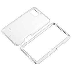 Clear Snap on Crystal Case for Motorola Droid Bionic XT875
