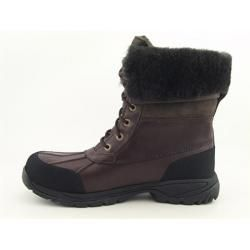 UGG Australia Mens Club Brown Butte Snow Boots