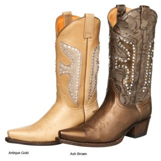 Frye Daisy Duke Crystal Womens Boots