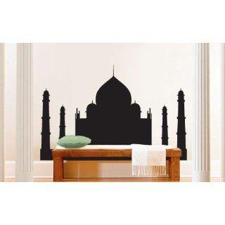 Vinyl Wall Art Decal Sticker India Taj Mahal Silhouette
