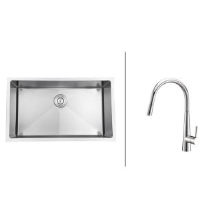 Kitchen Sink and Polished Chrome Faucet Set Today $464.99