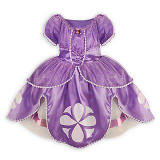 Disney Sofia the First Dress Costume for Girls Small 5 / 6