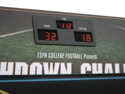 ESPN Touchdown Challenge Football Throw Game