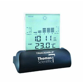 Thomas Traceable Workstation Digital Barometer, 15 to 158 degree F, 23