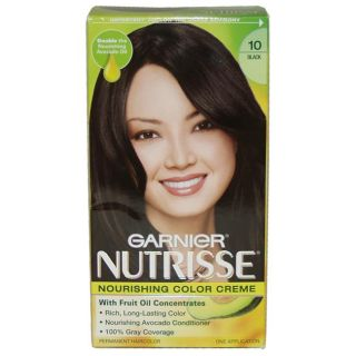 Garnier Nutrisse Black #10 Creme Hair Color