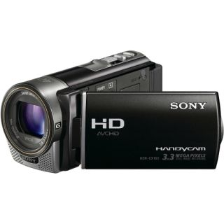 Sony Handycam HDR CX160 Digital Camcorder   3   Touchscreen LCD   CM