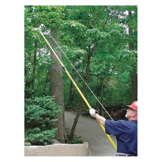 Jameson TP 14F Telescoping Fiberglass Pole, 7Ft 14Ft
