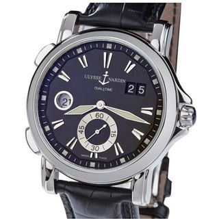 Ulysse Nardin Mens Dual Time Watch