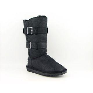 Bearpaw Womens Taylor Black Boots