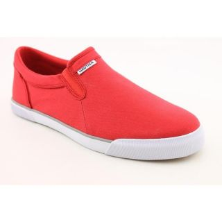 Nautica Mens Twin Gore Red Casual Shoes