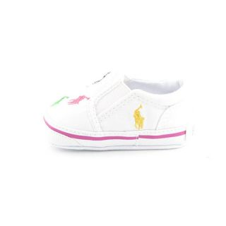 Ralph Lauren Infants Baby Toddlers Bal Harbour Repeat White Loafers