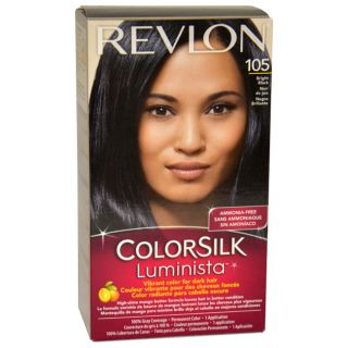 Revlon Colorsilk Luminista #105 Bright Black Hair Color Today: $6.99